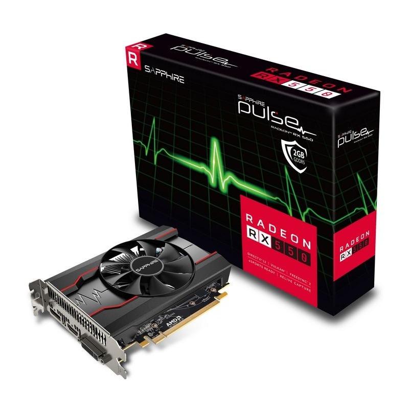 Placa Video Sapphire Radeon PULSE RX 550 2GB GDDR5 128 biti
