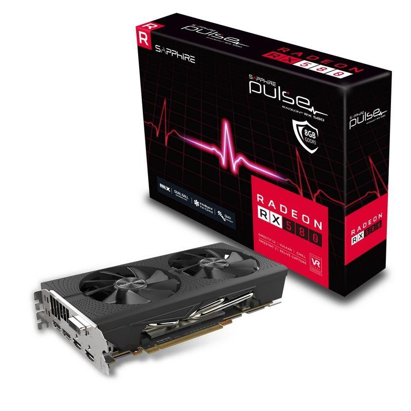 Placa Video Sapphire Radeon PULSE RX 580 8GB GDDR5 256 biti