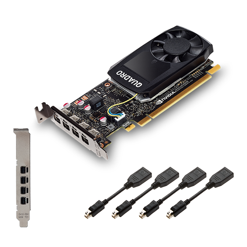Placa Video PNY nVidia Quadro P1000 4GB GDDR5 128 biti