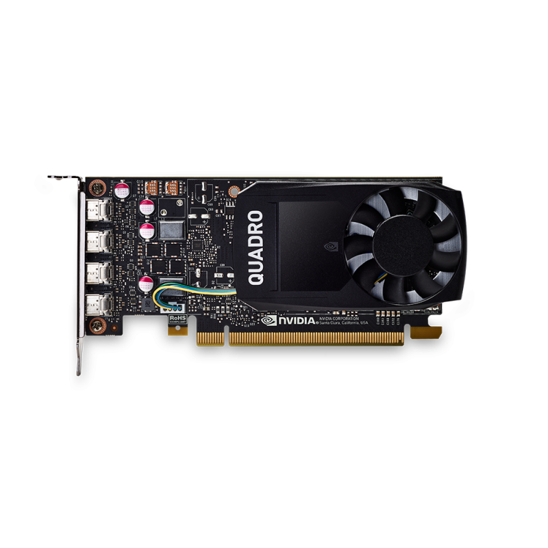 Placa Video PNY nVidia Quadro P1000 DVI 4GB GDDR5 128 biti