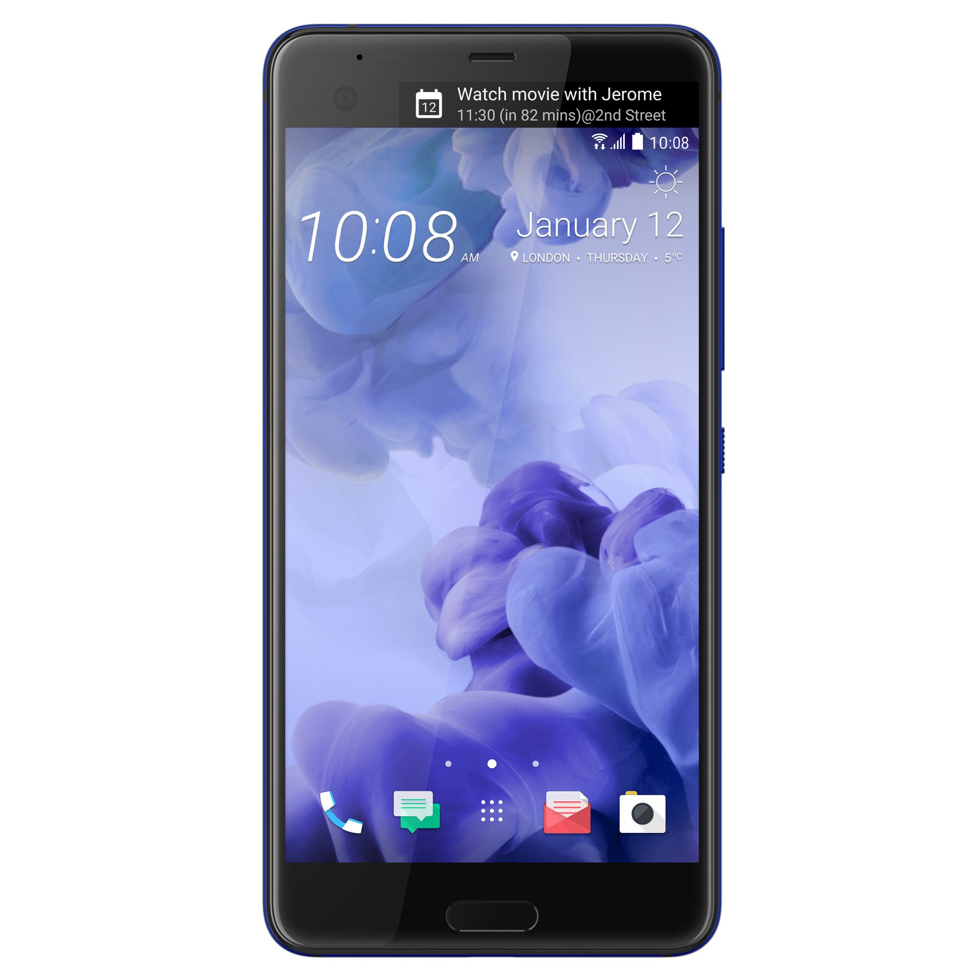 Telefon Mobil HTC U Ultra 64GB Flash 4GB RAM Single SIM 4G Indigo Blue