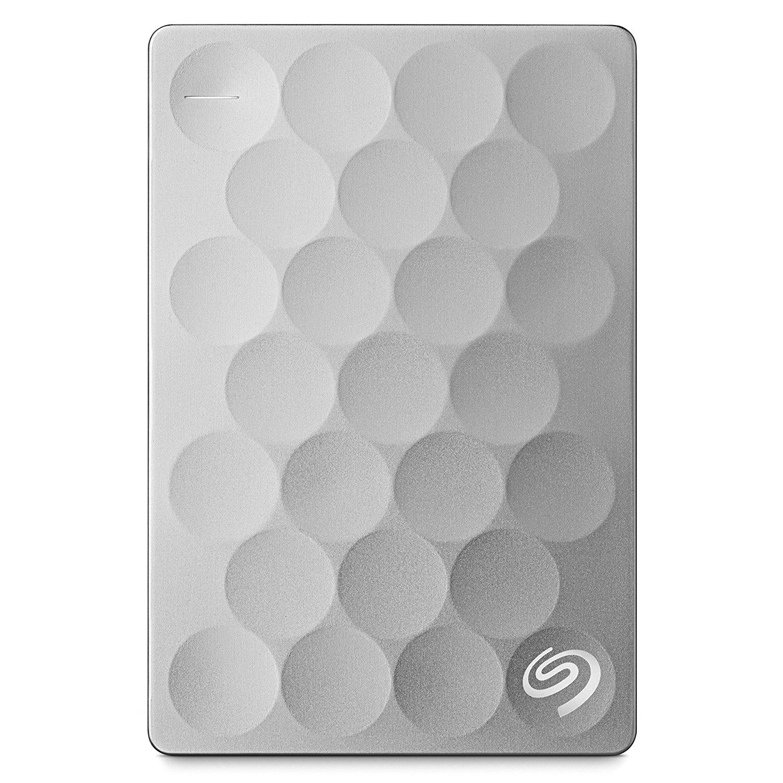 Hard Disk Extern Seagate Backup Plus Ultra Slim 2TB USB 3.0 Platinium