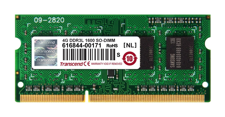 Memorie Notebook Transcend TS512MSK64W6H 4GB DDR3L 1600MHz CL11