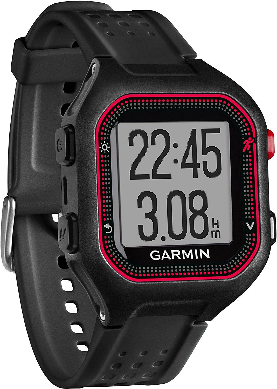 Smartwatch Garmin Forerunner 25 Negru/Rosu