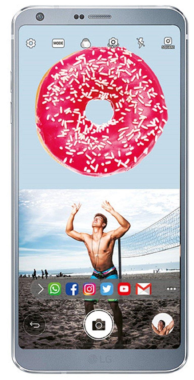 Telefon Mobil LG G6 H870 32GB Flash 4GB RAM Dual SIM 4G Platinum
