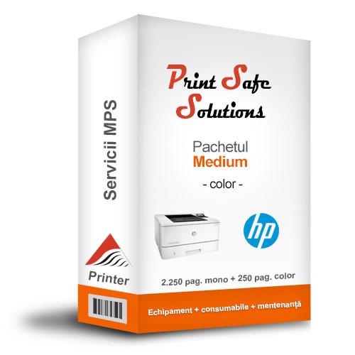 HP MPS Medium color printer