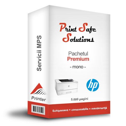 HP MPS Premium monocrom printer