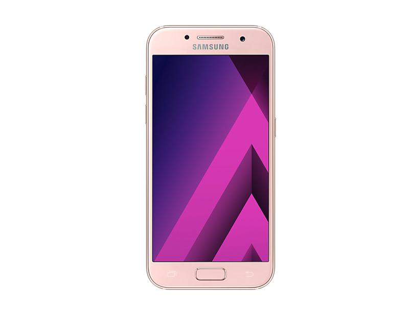 Telefon Mobil Samsung A320 Galaxy A3 (2017) 16GB Flash 2GB RAM Single SIM 4G Peach Cloud