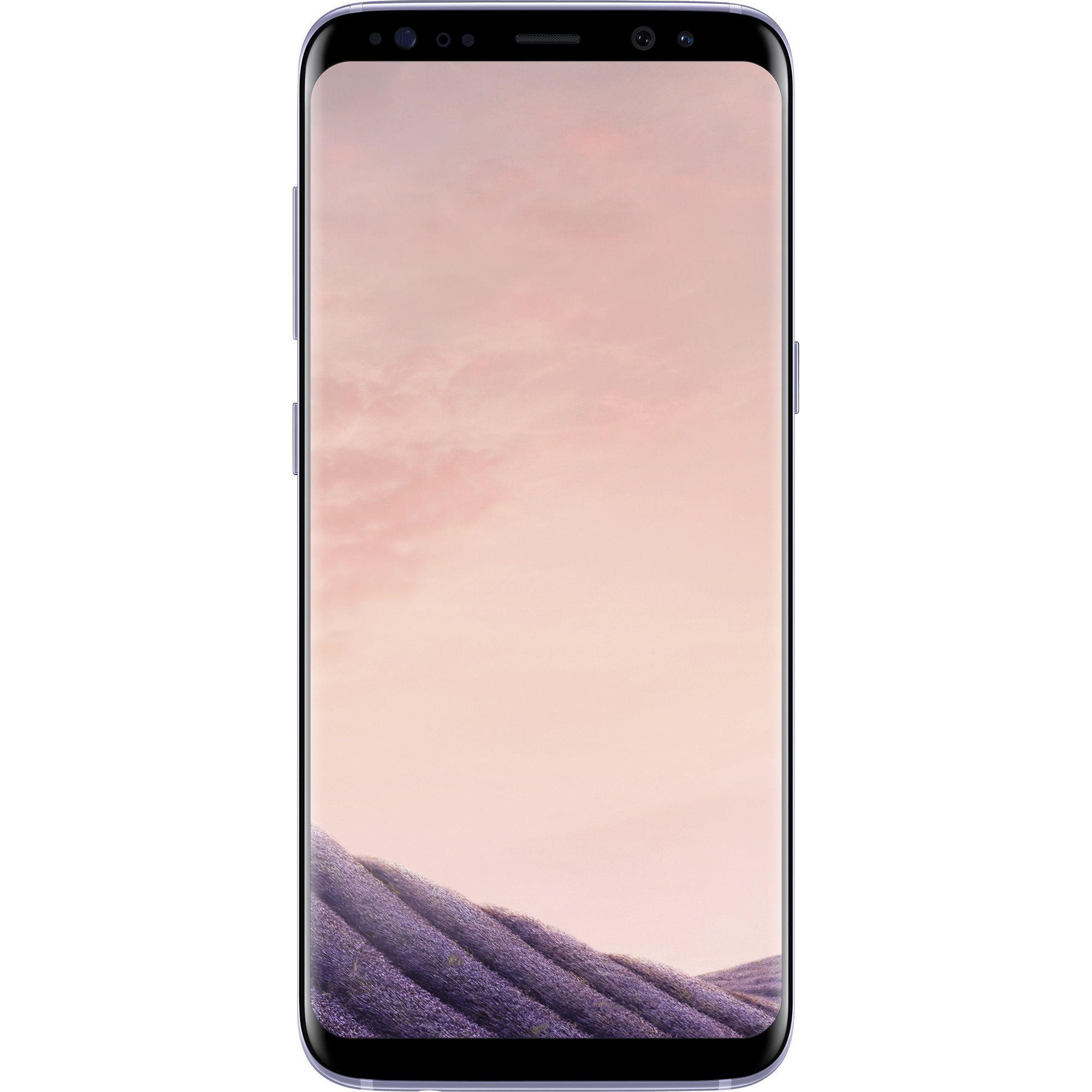 Telefon Mobil Samsung Galaxy S8 G950 64GB Flash 4GB RAM Dual SIM 4G Orchid Grey