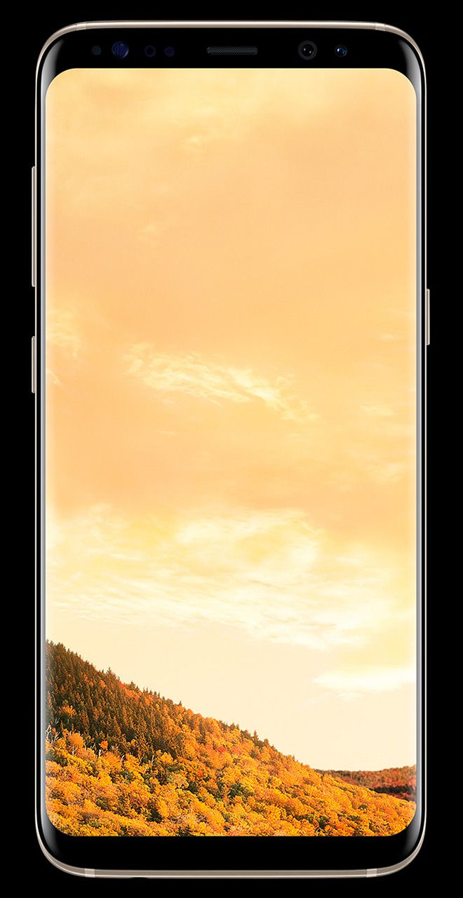 Telefon Mobil Samsung Galaxy S8 G950 64GB Flash 4GB RAM Dual SIM 4G Maple Gold