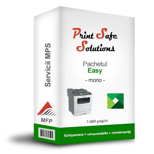 Lexmark MPS Print Safe Solutions Easy monocrom MFP
