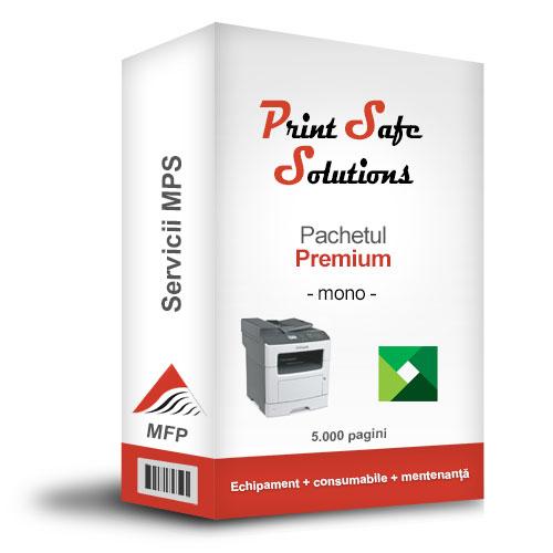 Lexmark MPS Print Safe Solutions Premium MFP A4 monocrom