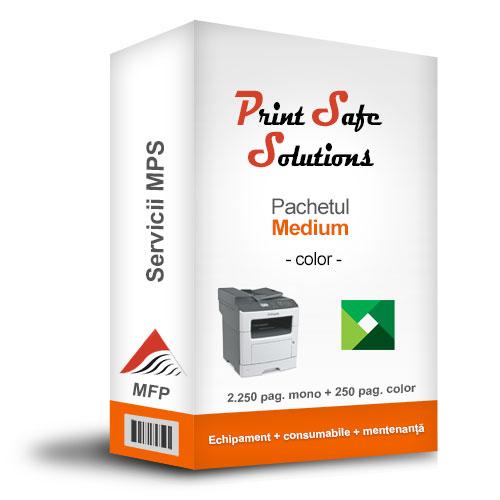 Lexmark MPS Print Safe Solutions Medium MFP A4 color