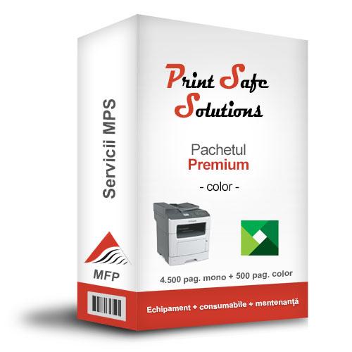 Solutie MPS Print Safe Solutions Premium MFP A4 color