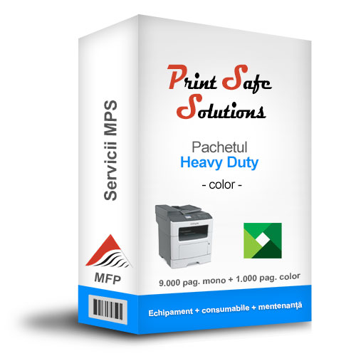 Solutie MPS Print Safe Solutions Heavy-Duty MFP A4 color