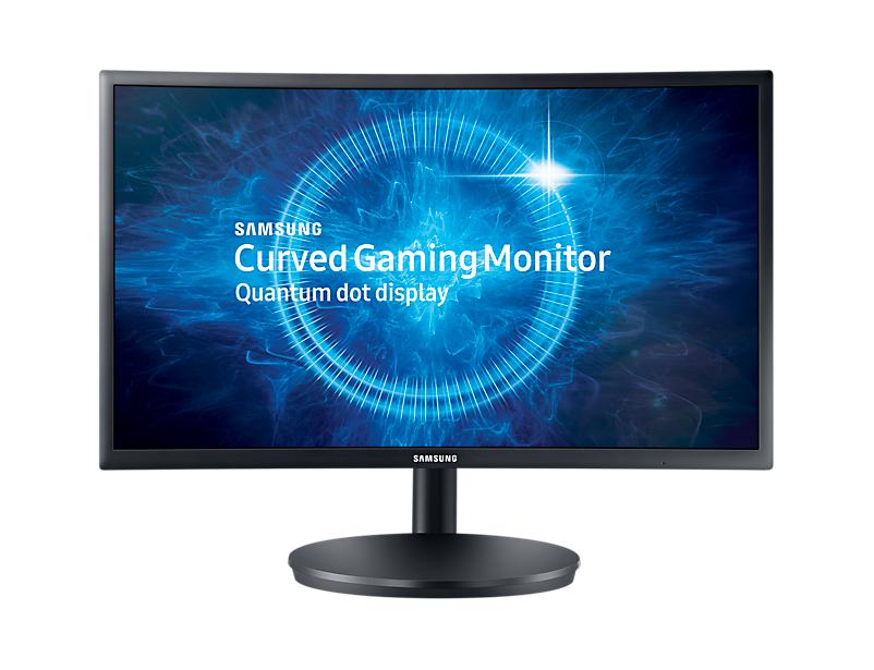 Monitor LED Samsung C24FG70FQU Curbat 24 1ms Full HD Negru