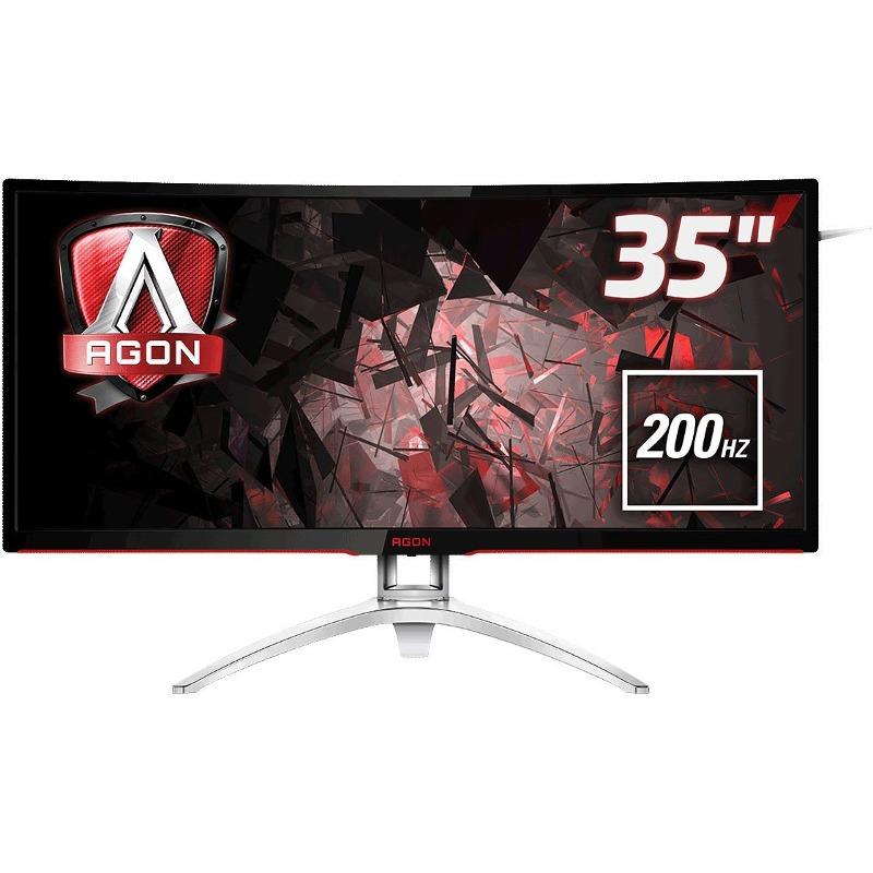 Monitor LED AOC AG352QCX 35 21:9 Curbat 4ms Negru