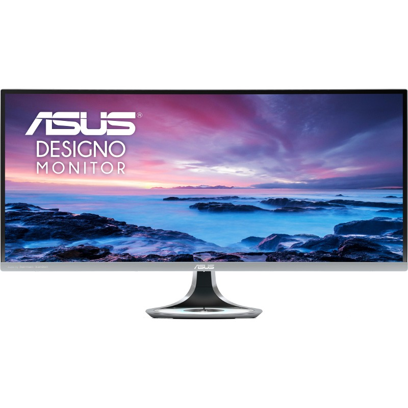 Monitor LED Asus MX34VQ 34 Curbat 21:9 5ms Negru