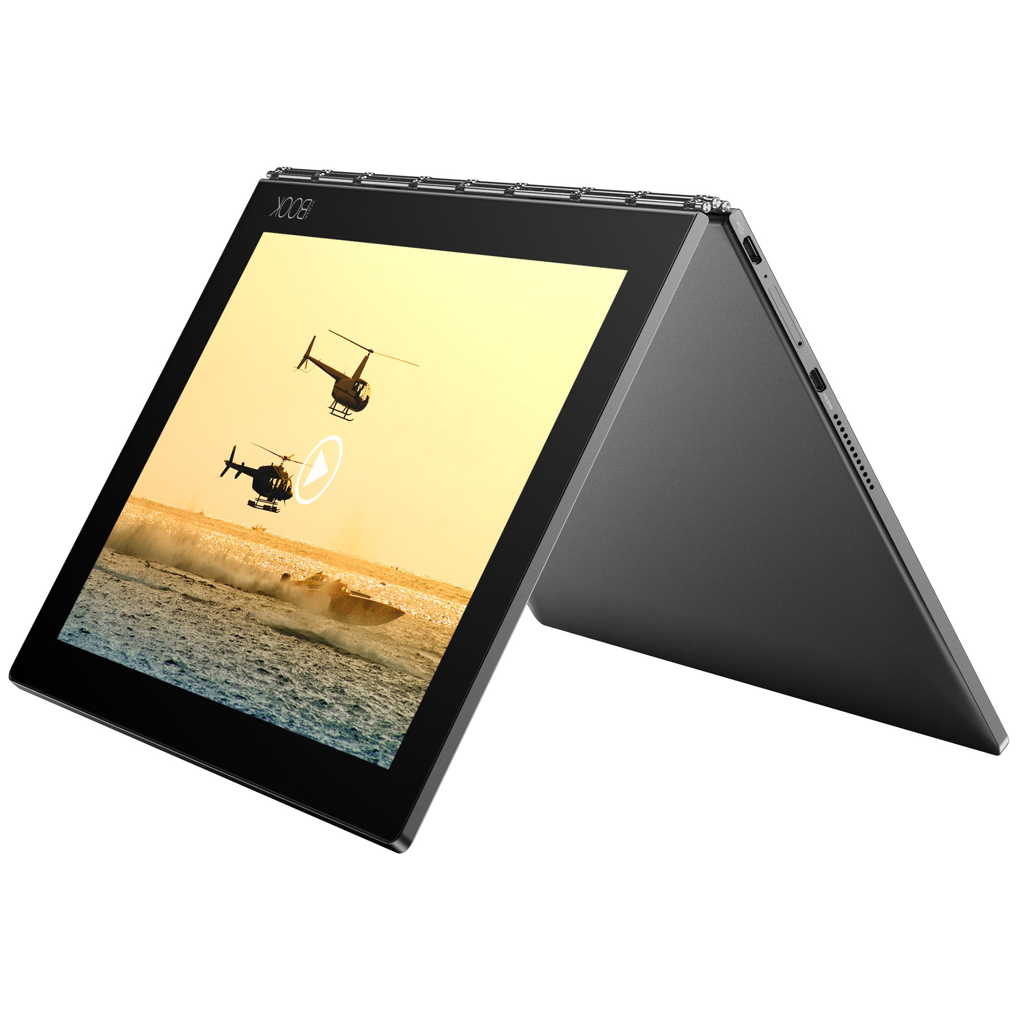 Tableta Lenovo Yoga Book 10.1 Intel Atom x5-Z8550 64GB Flash 4GB RAM 4G Windows 10 Pro Black