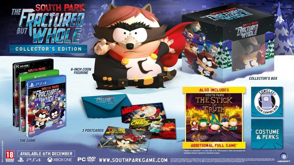 South Park The Fractured But Whole Collectors Edition - PC