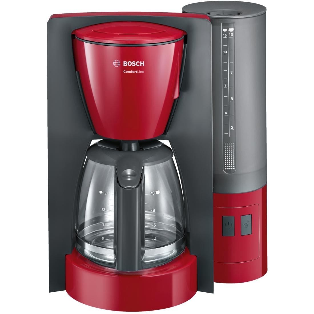 Cafetiera Bosch TKA6A044 1000W 1.25L Red