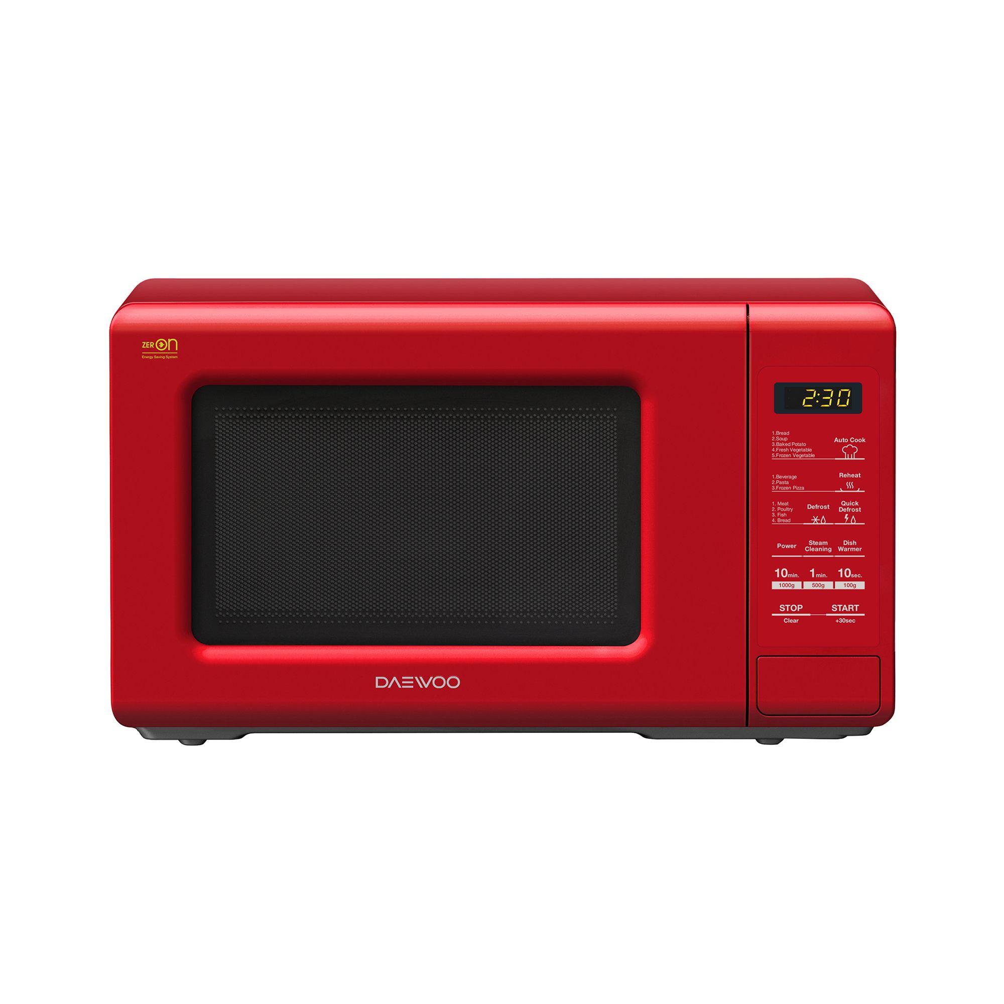 Cuptor cu microunde Daewoo KOR-6S2BR 800W 20L Digital Rosu