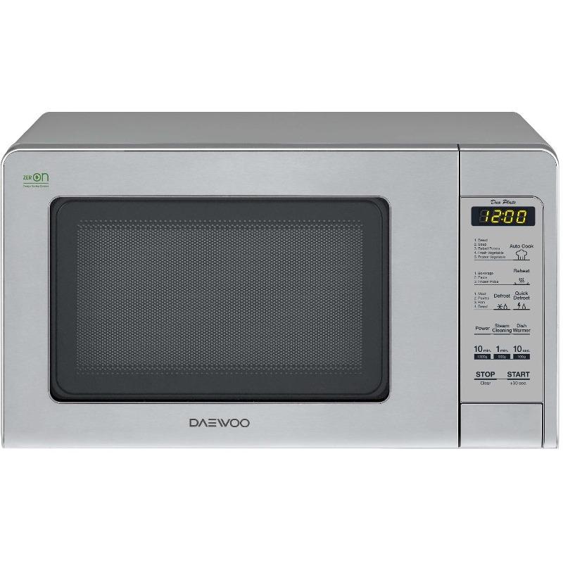 Cuptor cu microunde Daewoo KOR-6S4DBI 800W 20L Digital Argintiu