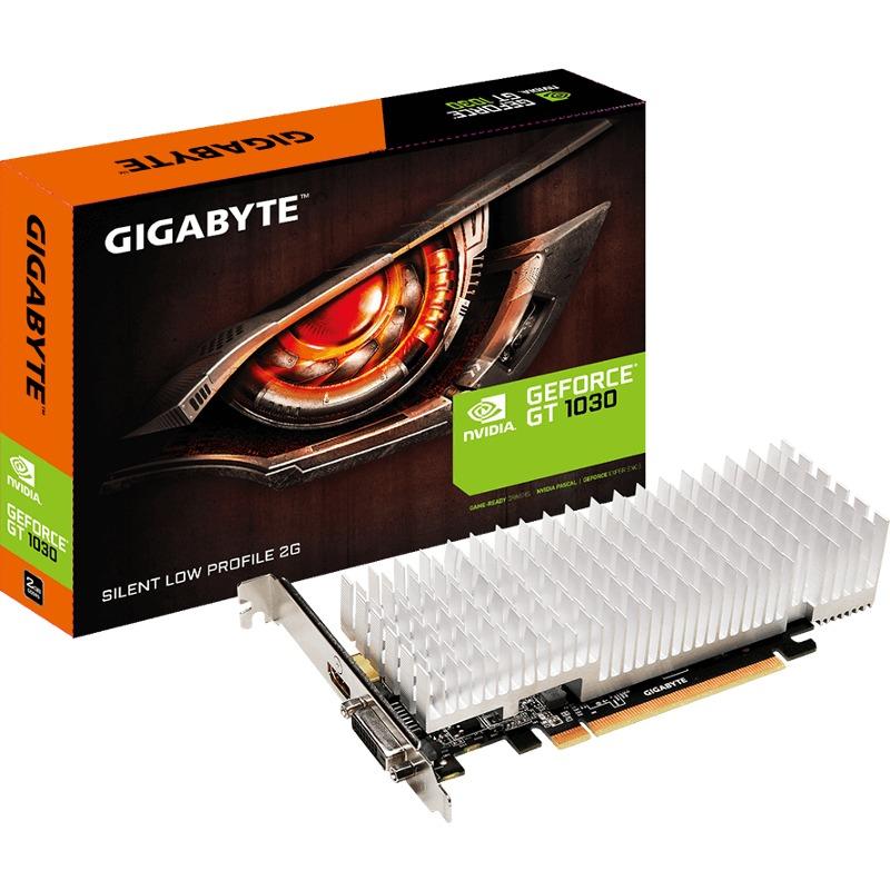 Placa Video Gigabyte GeForce GT 1030 Silent Low Profile 2GB GDDR5 64 biti