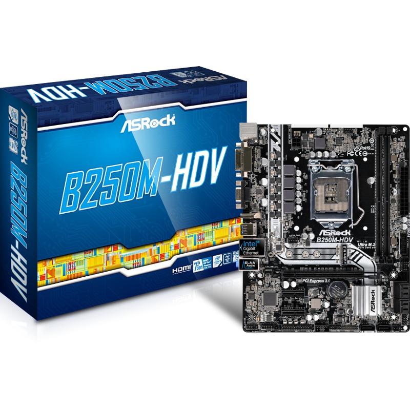 Placa de baza ASRock B250M-HDV socket 1151