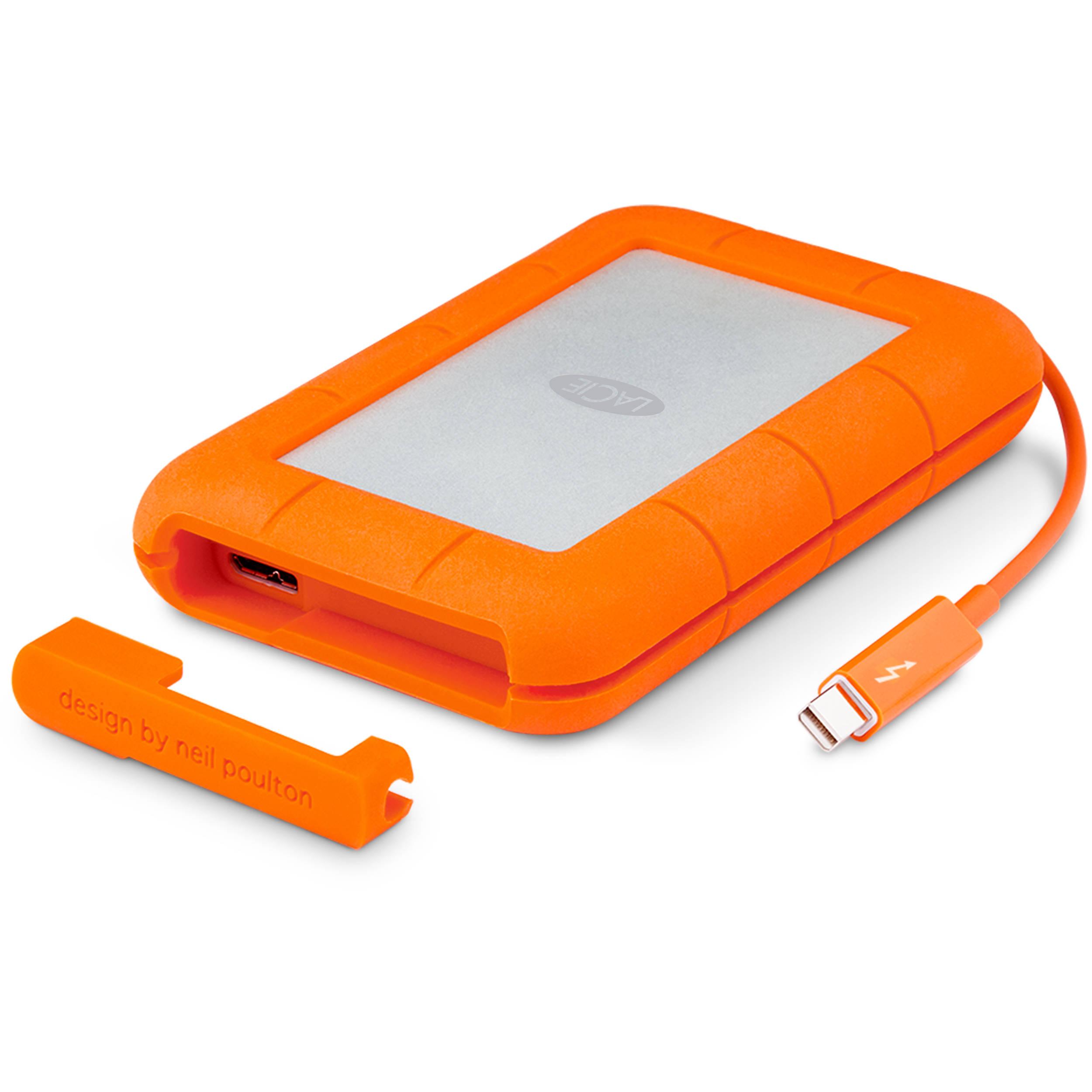 Hard Disk Extern LaCie Rugged RAID 4 TB Thunderbolt USB 3.0