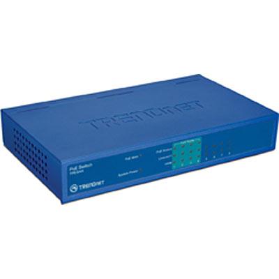 Switch TRENDnet TPE-S44 8x100Mbps-RJ45 fara management cu PoE