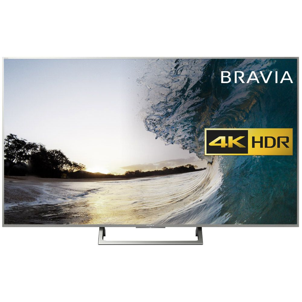 Televizor LED Sony Smart TV Android 55XE8577 139cm Ultra HD 4K HDR Argintiu