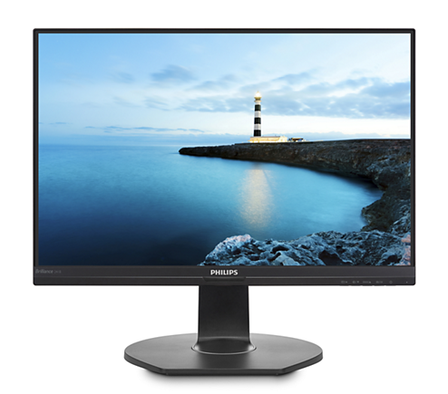 Monitor LED Philips 241B7QUPEB 23.8 5ms Full HD Negru
