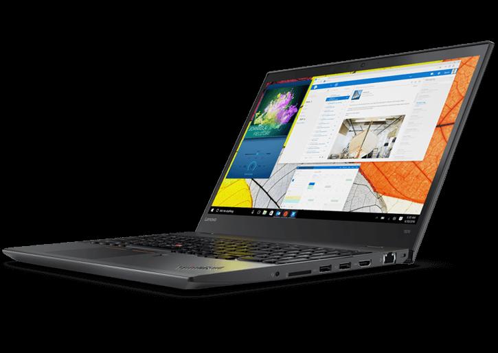 Notebook Lenovo ThinkPad T570 15.6 Full HD Intel Core i7-7500U 940MX-2GB RAM 8GB SSD 256GB Windows 10 Pro