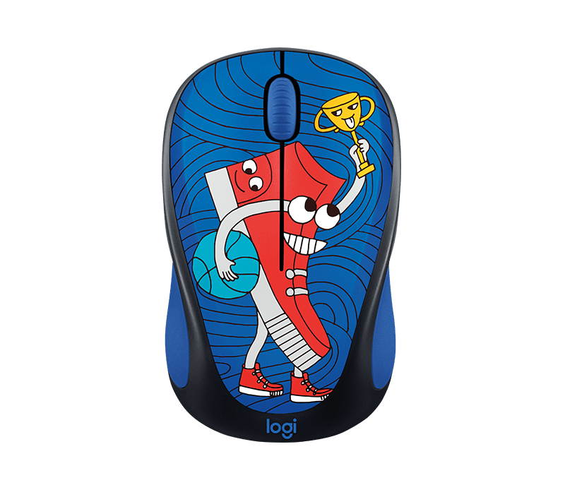 Mouse Wireless Logitech M238 Doodle Collection Sneakerhead