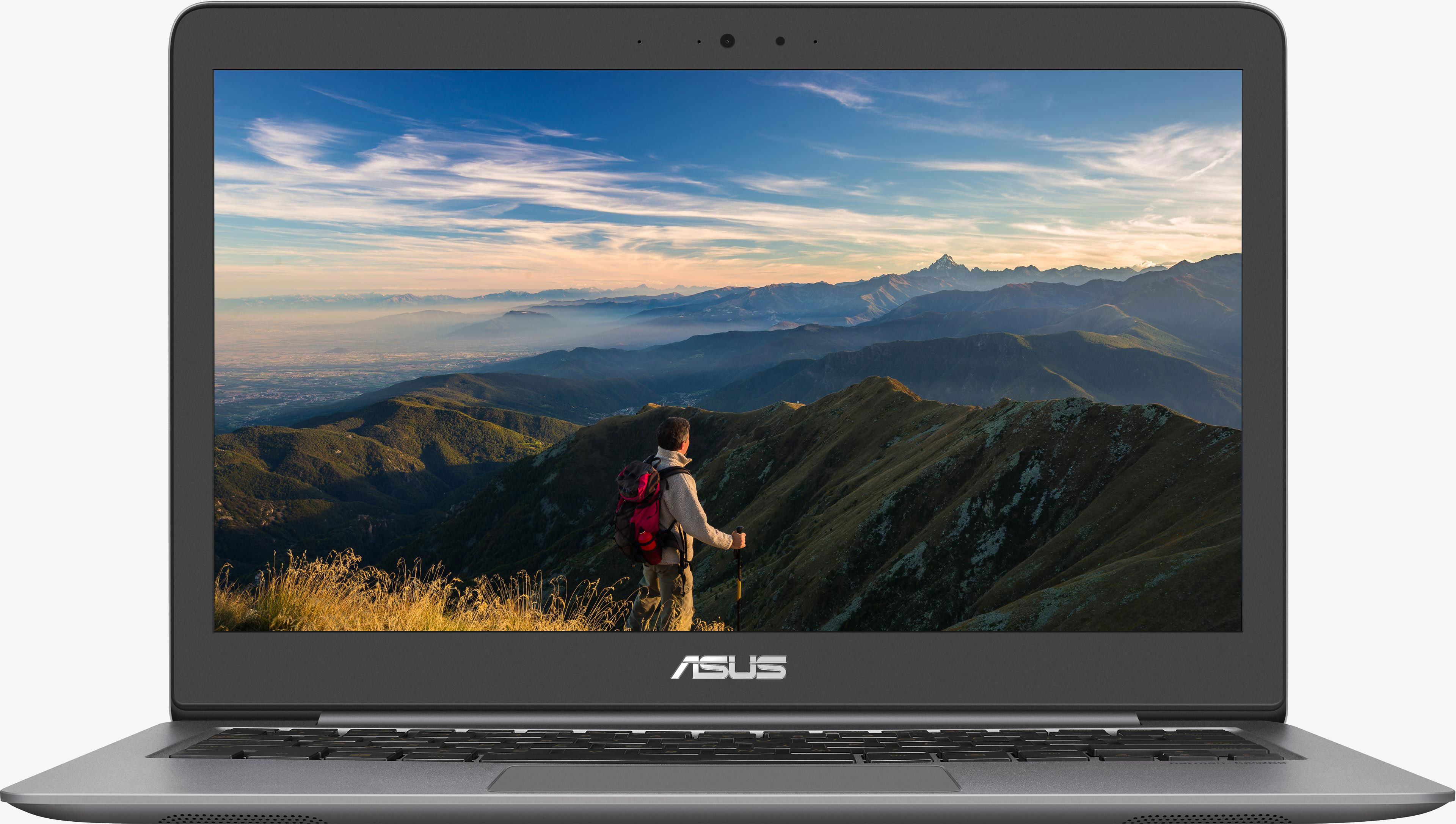 Ultrabook Asus ZenBook UX310UQ 13.3 QHD Intel Core i7-7500 940MX-2GB RAM 16GB HDD 1TB + SSD 256GB Windows 10 Pro Grey