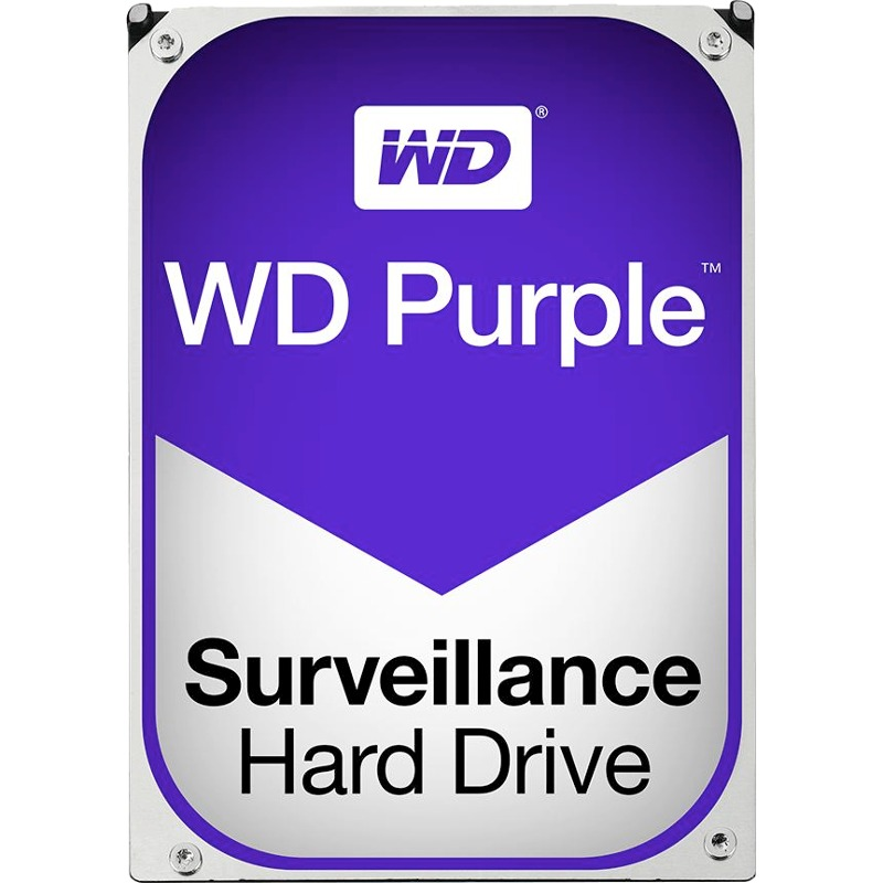 Hard Disk Desktop Western Digital WD Purple Surveillance 3TB 5400RPM SATA3 64MB