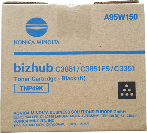 Cartus Toner Black Konica Minolta TNP-49K 13K