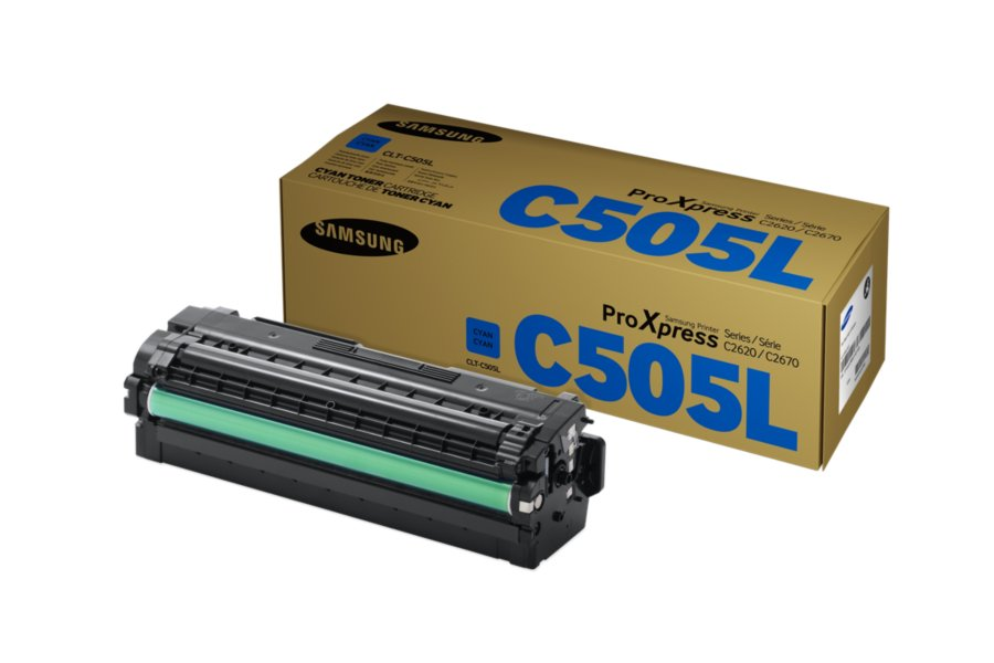 Cartus Toner Cyan Samsung CLT-C505L 3.5K