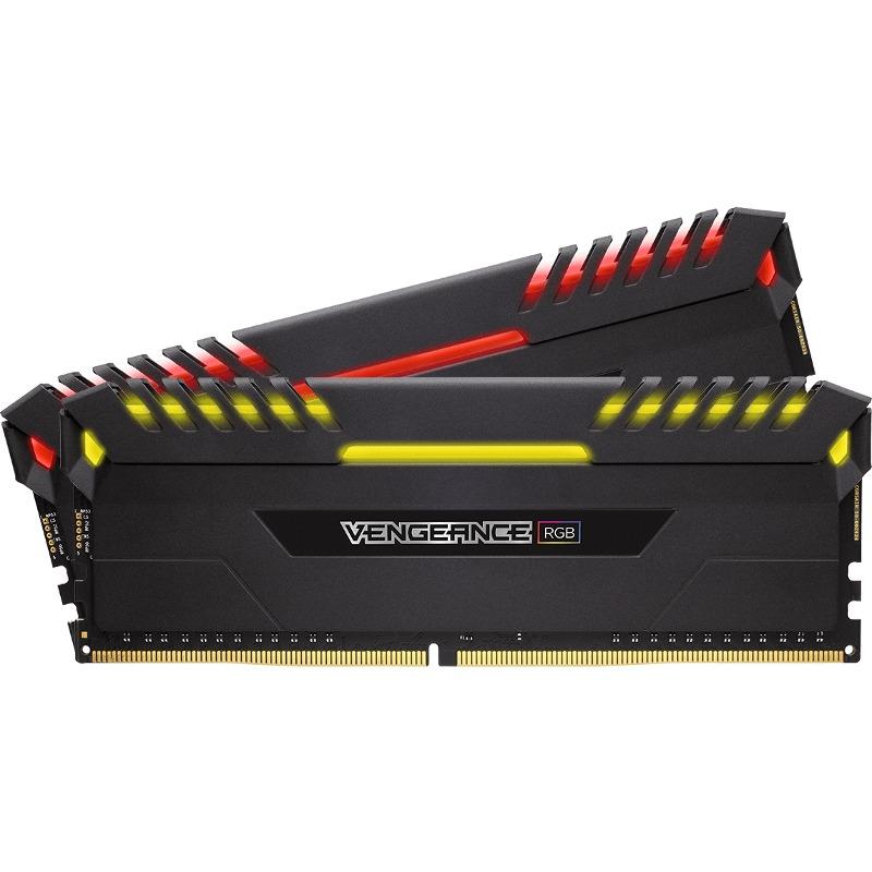 Memorie Desktop Corsair Vengeance RGB 16GB (2 x 8GB) DDR4 3200MHz
