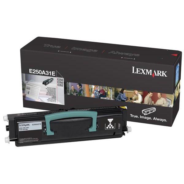 Cartus toner Lexmark E250A31E Black 3500 pagini
