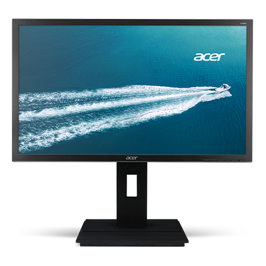 Monitor LED Acer B246HYLAYMDR 23.8 6ms Full HD Negru title=Monitor LED Acer B246HYLAYMDR 23.8 6ms Full HD Negru