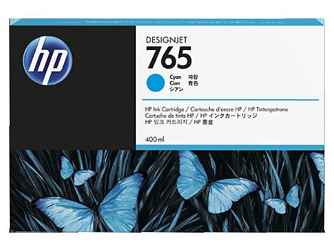 Cartus Inkjet HP 765 Cyan 400ml