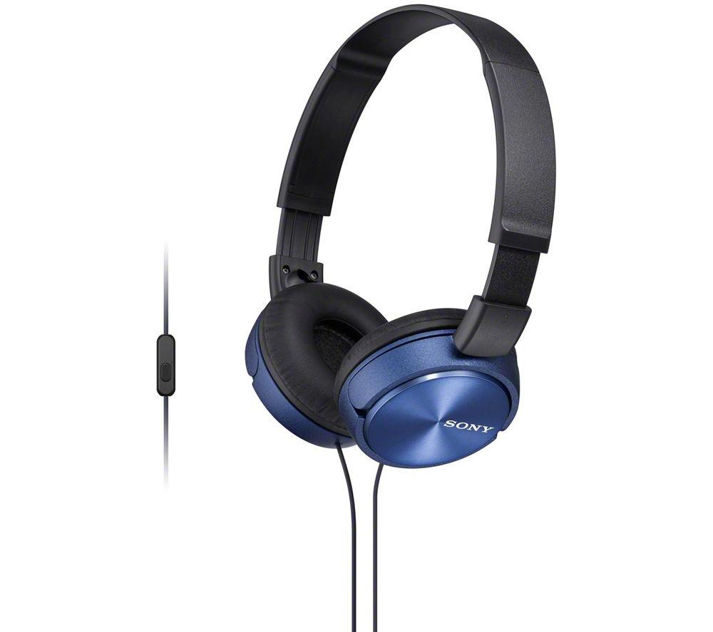 Casti Sony MDR-ZX310AP Albastru
