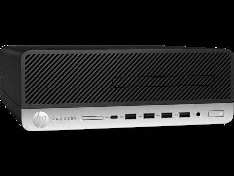 Sistem Brand HP ProDesk 600 G3 SFF Intel Core i3-7100 RAM 4GB HDD 1TB Windows 10 Pro