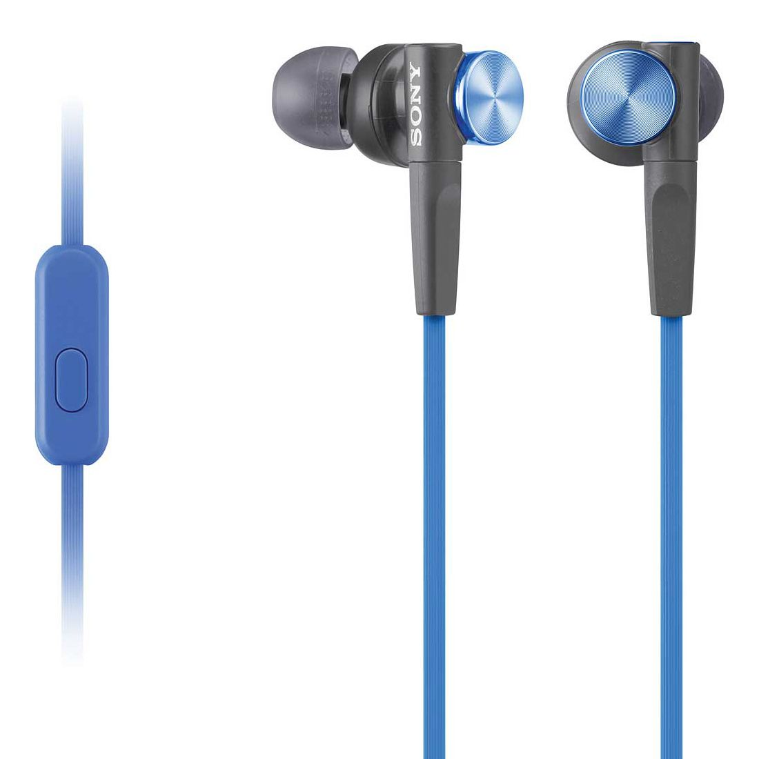 Casti Sony MDR-XB50AP Extra BASS Albastru