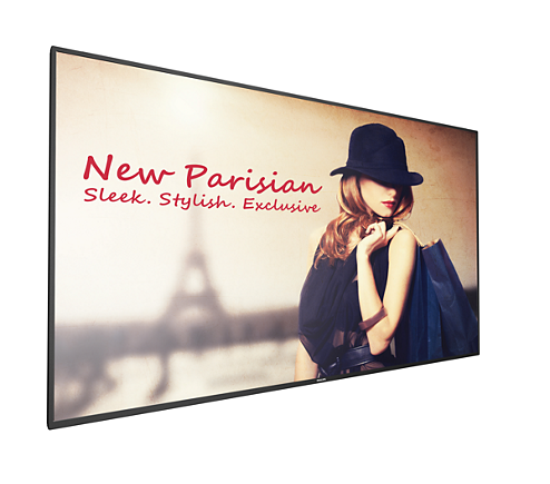 Monitor LED Philips 65BDL4050D 65 12ms Full HD Android Negru