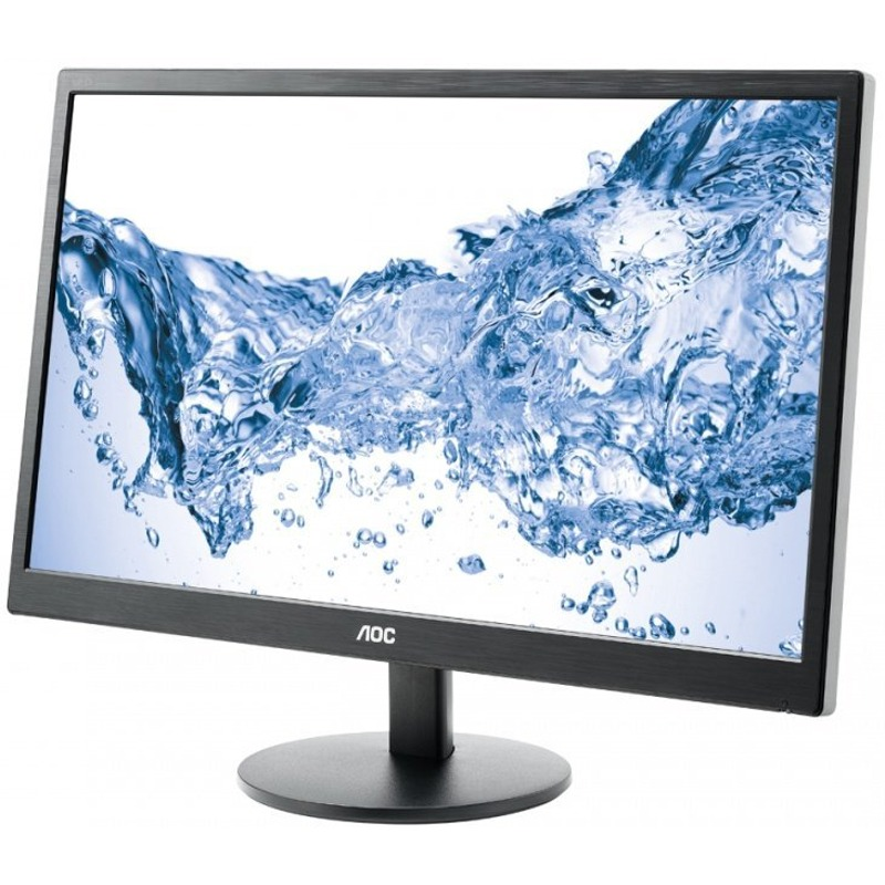 Monitor LED AOC E2470SWH 23.6 1ms 16:9 Full HD D-Sub DVI Negru