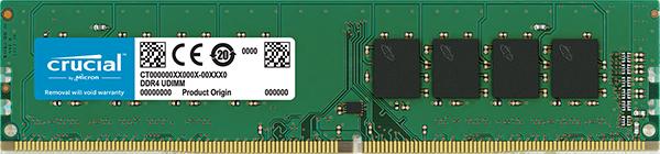 Memorie Desktop Micron Crucial CT4G4DFS824A 4GB DDR4 2400MHz