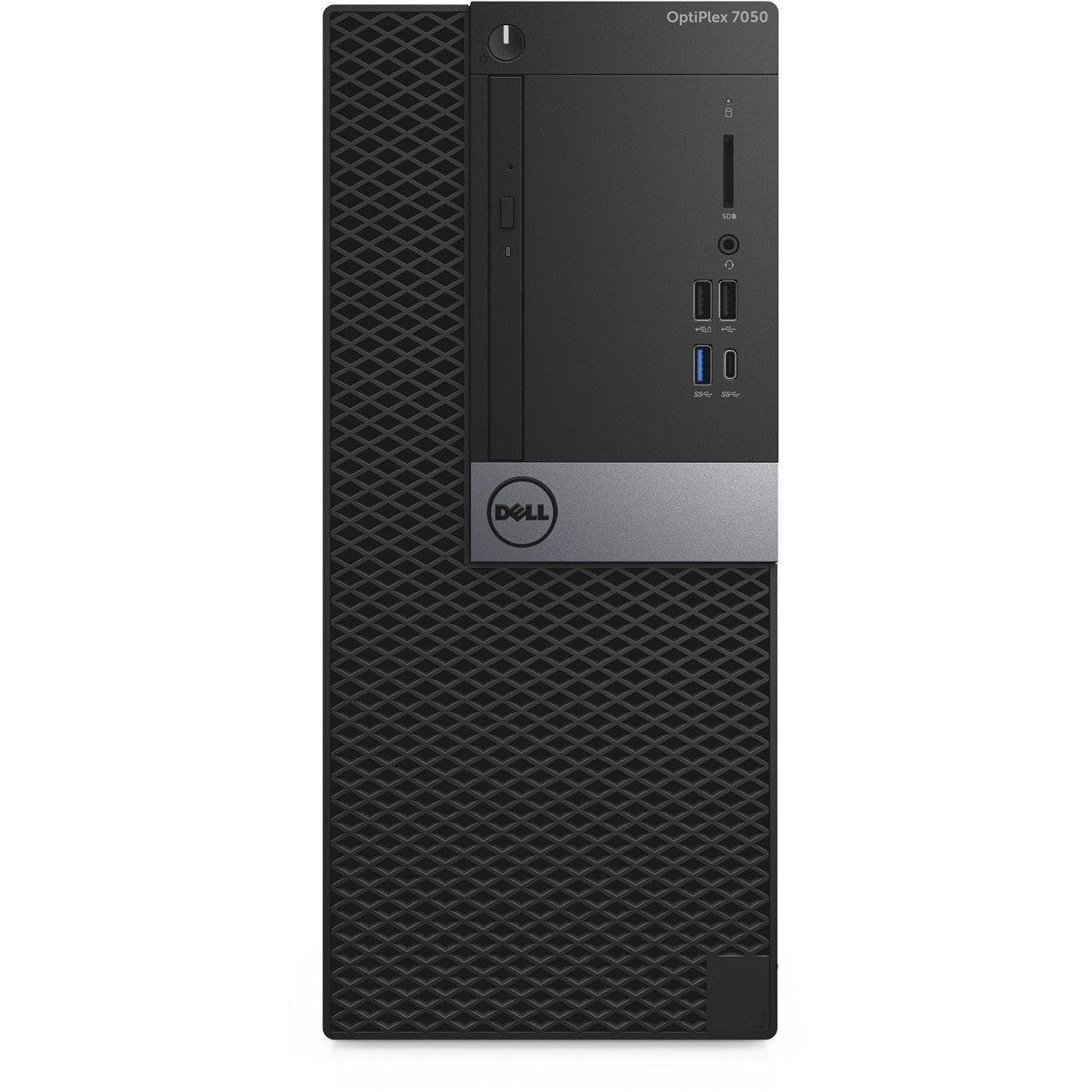 Sistem Brand Dell OptiPlex 7050 MT Intel Core i7-7700 R7 450-4GB RAM 4GB HDD 1TB Windows 10 Pro